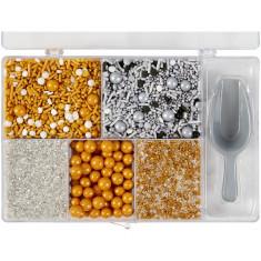 Caja Sprinkles Surtidos X 215 Gs. Wilton- Decoraciones Para Dulces