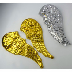 Ala Plastica Angel Plata/oro Tp X 6