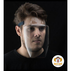 Mascara Proteccion X 10 +10-10% - Proteccion Facial 180 - No Se Empaña - Puede Usarse Con Lentes - Comoda  - Ajustable Con