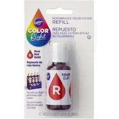Colorante Color Right Rojo X 19 Ml- Wilton-performace Color System