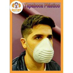 Tapaboca De Proteccion X 10 -mascarilla Plastica- Con Elastico