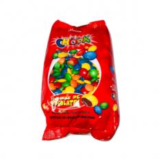 Confites Choc.chook X 500 Gs. Por Color - Palmesano - Rojo / Verde / Amarillo / Azul / Anaranjado / Blanco / Rosa / Violeta /