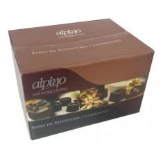 Choc Alpino Pins Caja X 5 Kg.s.amargo A Granel- Lodiser -                  Pascua