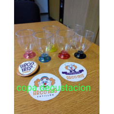 Copa Degustacion Base Color X 10 -70 Cc-