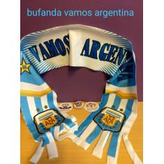 Bufanda Vamos Argentina Cel/blanca X U.                           - Mundial