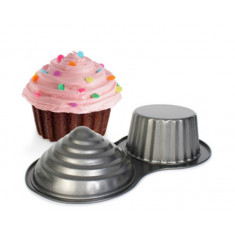 Teflon Molde Cup Cake Gigante Doble                      -repanto01-