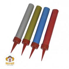 Bengala Lisa Color 10x4 +4-10% Total 40 Unidades De 9cm.c/u - Fuegolandia  - Caja Blanca