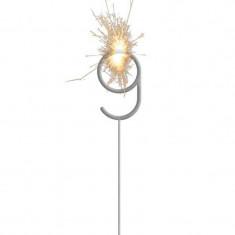 Velas Sparkles Numero 9 X U. +10-5% - Estrellita - Exhibidora Para Colgar