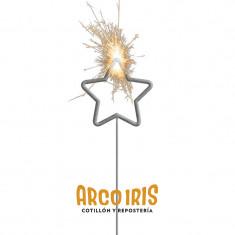 Velas Sparkles Forma Estrella X U. +10-5% - Estrellita - Exhibidora Para Colgar