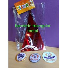 Banderin Triang.holo/metalizado X U