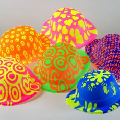Bombin Fluo Fsia.x 6 Plastico Multicolor
