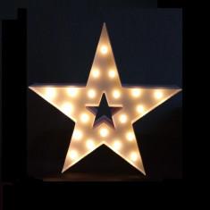 Cartel Led Estrella