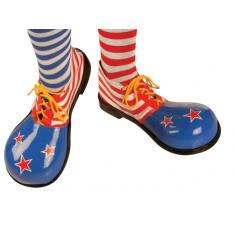 Chalupa Zapato De Cuero Clown X Par