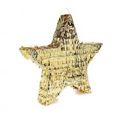 Mexi. Piñata Estrella Dorada X U