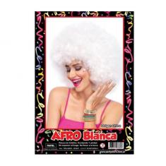 Pel. Afro Blanca X U                        -party Store