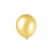 Globo Perl.10 X50 Dorado +10 -5% -globolandia -promo Por Cantidad