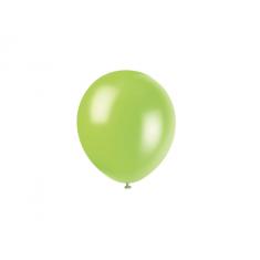 Globo Perl.10 X50 Verde Manzana +10 -5% -globolandia -promo Por Cantidad