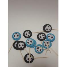 Azu Pinches X 12 Futbol-mickey-minnie-cupcake-                                        Pascua