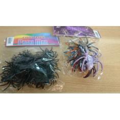 Arañas Grandes X 6 Patrimar Negra/color