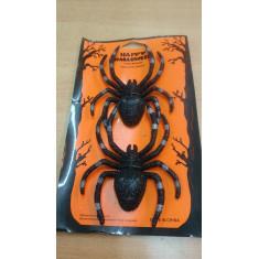 Hal Arañas X 2 C/ Brillo --happy Halloween