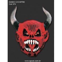 Spook Masc.diablo Cuerno Lujo  - 674