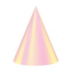 Bonete Papel Iridiscente X 6     -party Store-