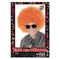 Pel. Afro Naranja X U                        -party Store