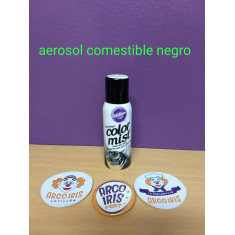 Aerosol Comestible Negro X 42 Gs -color Mist Wilton-15 Oz