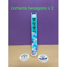 Cortante Hexagonos X 2 - La Botica