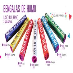 Humo Bengala Amarilla X U. - Mas De 3 Un 10% Menos