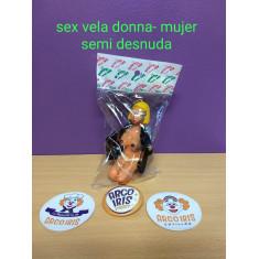 Sex Vela Donna Mujer Semi Desnuda-