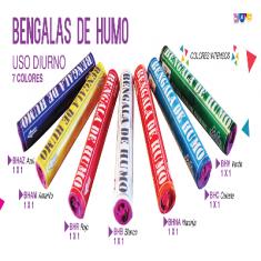 Humo Bengala Roja X U. - Mas De 3 Un 10% Menos