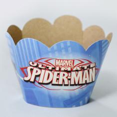 Araña Faja Cubre Cupcake X 10 -