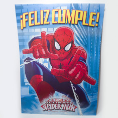 Araña Afiche Feliz Cumple X U