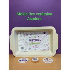 Molde C/ Rev. Ceramico Asadera 37 X 23 X 5 Cm Cm-d´saza