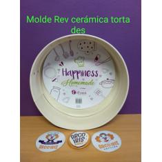 Molde C/ Rev. Ceramico Torta Des. 24 Cm Cm-d´saza