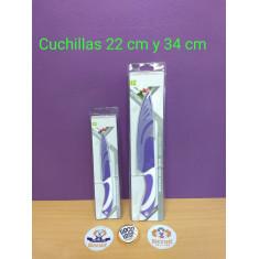 Cuchilla 34 Cm Colorida - Antiadherente-kitchen Knife
