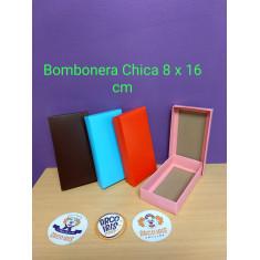 Bombonera Chica 8 X 16 Cm-c/ Tapa Vs Colores