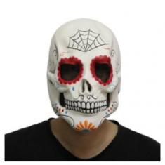 Latex Mascara Calaca Party Store X U -mexicana-