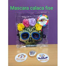 Mascara Calaca C/ Flores X U