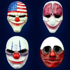 Mascara Rigida Pintadas Payday X U --bandera Eeuu-payaso-la Purga-