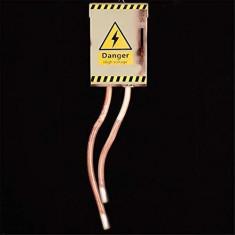 Caja De Alto Voltaje Sonodo Y Movimiento -danger High Voltage