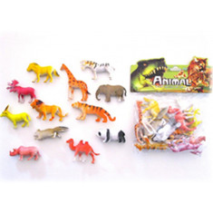 Animales Selva Med. X 6 Animal World -