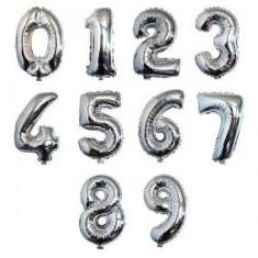Myler Numero 7 X 10 -plateado