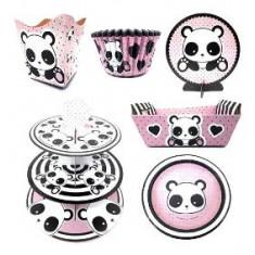 Panda Torre Posa Cupcakes 3 Pisos -posa Cupcakes-.