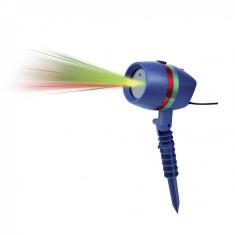 Luz Laser Multipunto C/estaca P/exterior -sin Garantia- Laser Lighti-