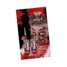 Sangre Artificial 2.5 Ml Xu- Blister 2 Ampollas                                      Pintafan Halloween