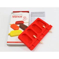 Silicona Molde P/helado Minor - Dos Lembas  Con Receta