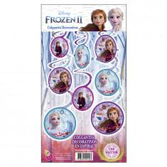 Frozen Co Colgante Decorativo X 6 En Espiral
