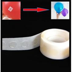 Adhesivos Para Globo X 6 Rollos -oferta- Balloon Glue- Gotas De Silicona X 100 -aprox- En Cinta.